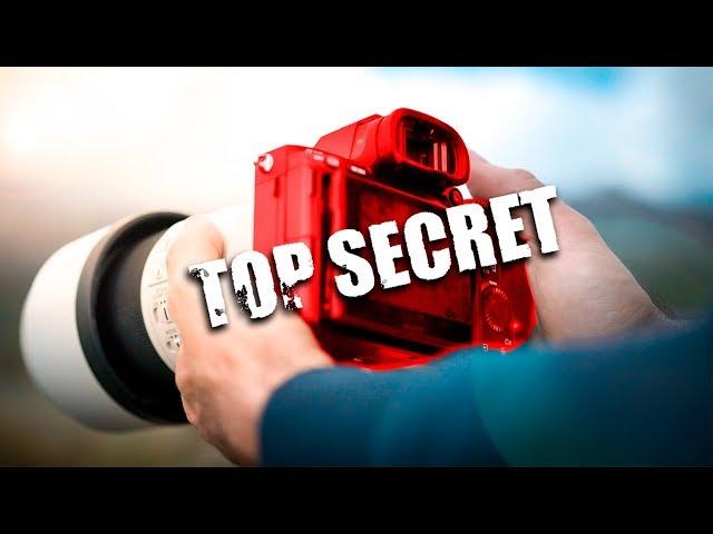nueva CÁMARA para PROYECTO SECRETO