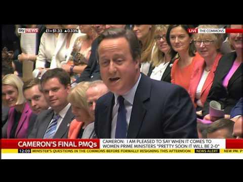 PMQs David Cameron's Last
