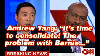 CNN Andrew Yang Brilliant Comments on Nevada Caucus & Suggestions to Candidates