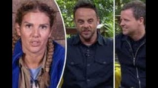 I'm A Celebrity 2017: Ant and Dec SLAM 'miserable' Rebekah Vardy as eviction odds PLUMMET