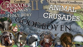 Animals Go Crusading (Easter Egg) - Crusader Kings 2: Holy Fury