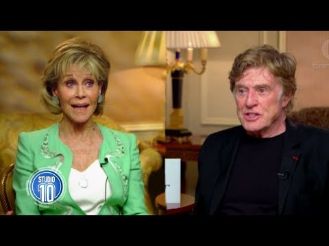 Jane Fonda & Robert Redford Reunite | Studio 10