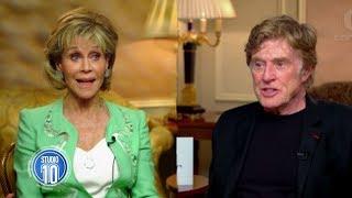 failzoom.com - Jane Fonda & Robert Redford Reunite | Studio 10