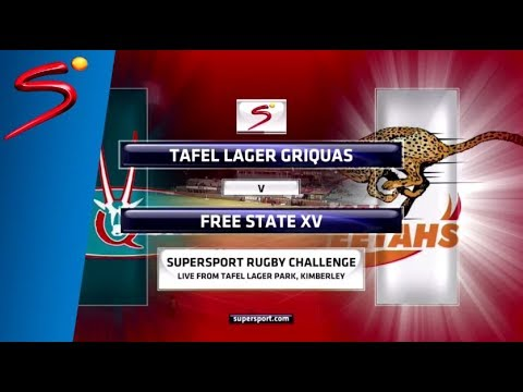 SuperSport Rugby Challenge - Tafel Lager Griquas vs Toyota Free State Cheetahs