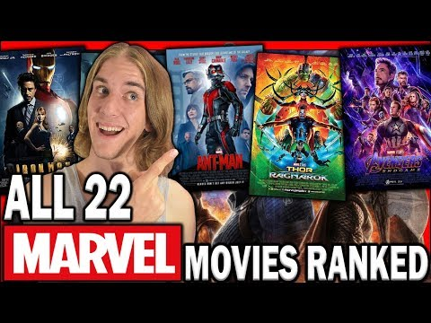 All 22 MCU Movies Ranked WORST to BEST (Including Avengers: Endgame)