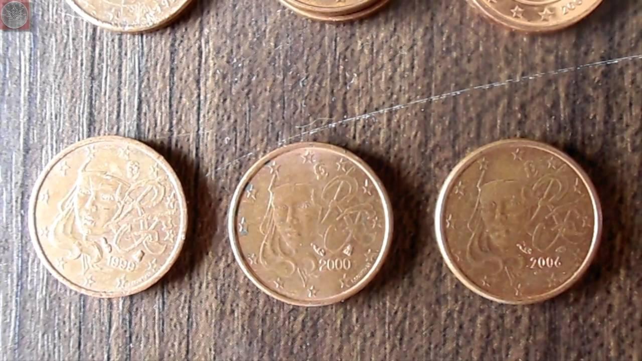 Münzrollenjagd 09 1000 Stück 1 Cent Münzen Youtube
