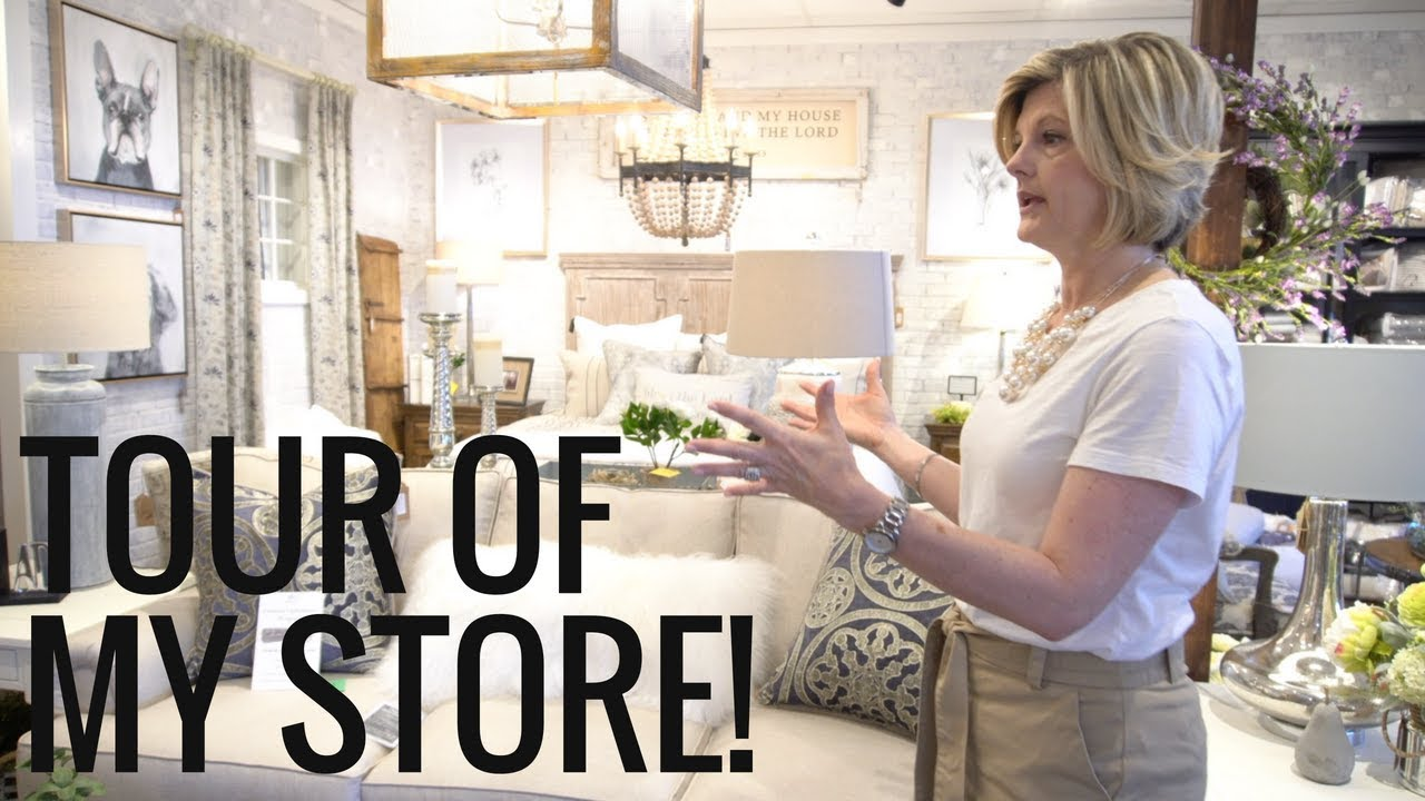 Tour Of My Home Decor Store Youtube