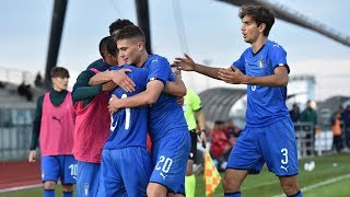 Highlights Under 19: Italia-Malta 2-0 (13 novembre 2019)