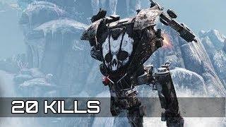 HAWKEN (PS4) : 20 Kills On Team Deathmatch | Gameplay