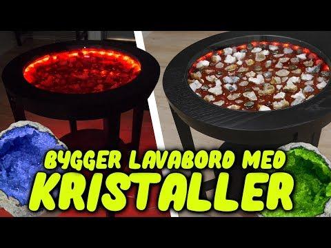 Bygger Lavabord Med Kristaller - Epoxy/Resin