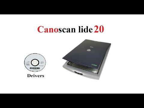 CanoScan LiDE 20 | Driver