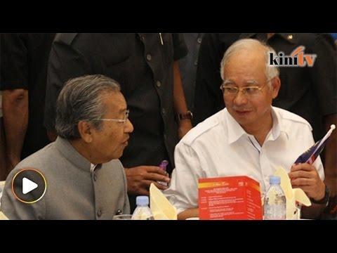 Mahkamah tolak saman misfeasans Mahathir ke atas Najib