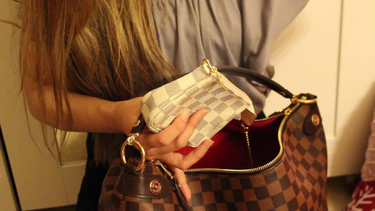 d8a155da55eb Duomo hobo Louis Vuitton bag กระเป๋าลุ่ยส์ - YouTube