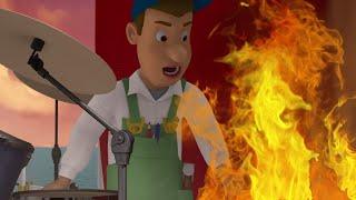 Sam il Pompiere italiano 🚒La chitarra in fiamme! 🔥Il meglio di Sam! 🔥 Cartoni animati | Wil