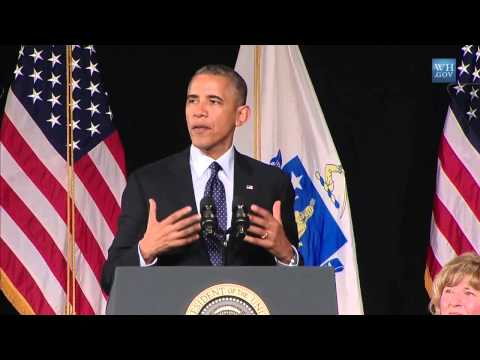Full Video: Obama Commencement Address To Worcester High School