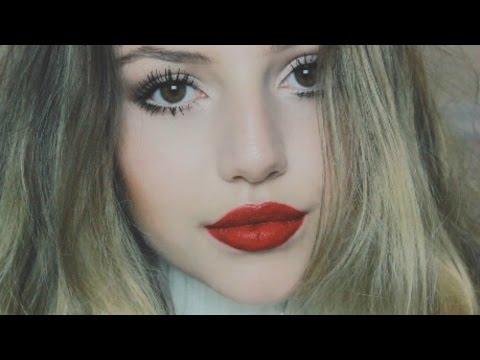 Winter/Holiday Makeup Tutorial ♡ Nathalie Paris