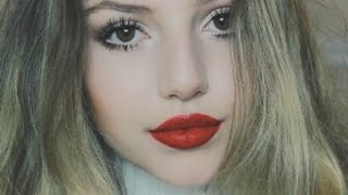 Winter/Holiday Makeup Tutorial ♡ Nathalie Paris