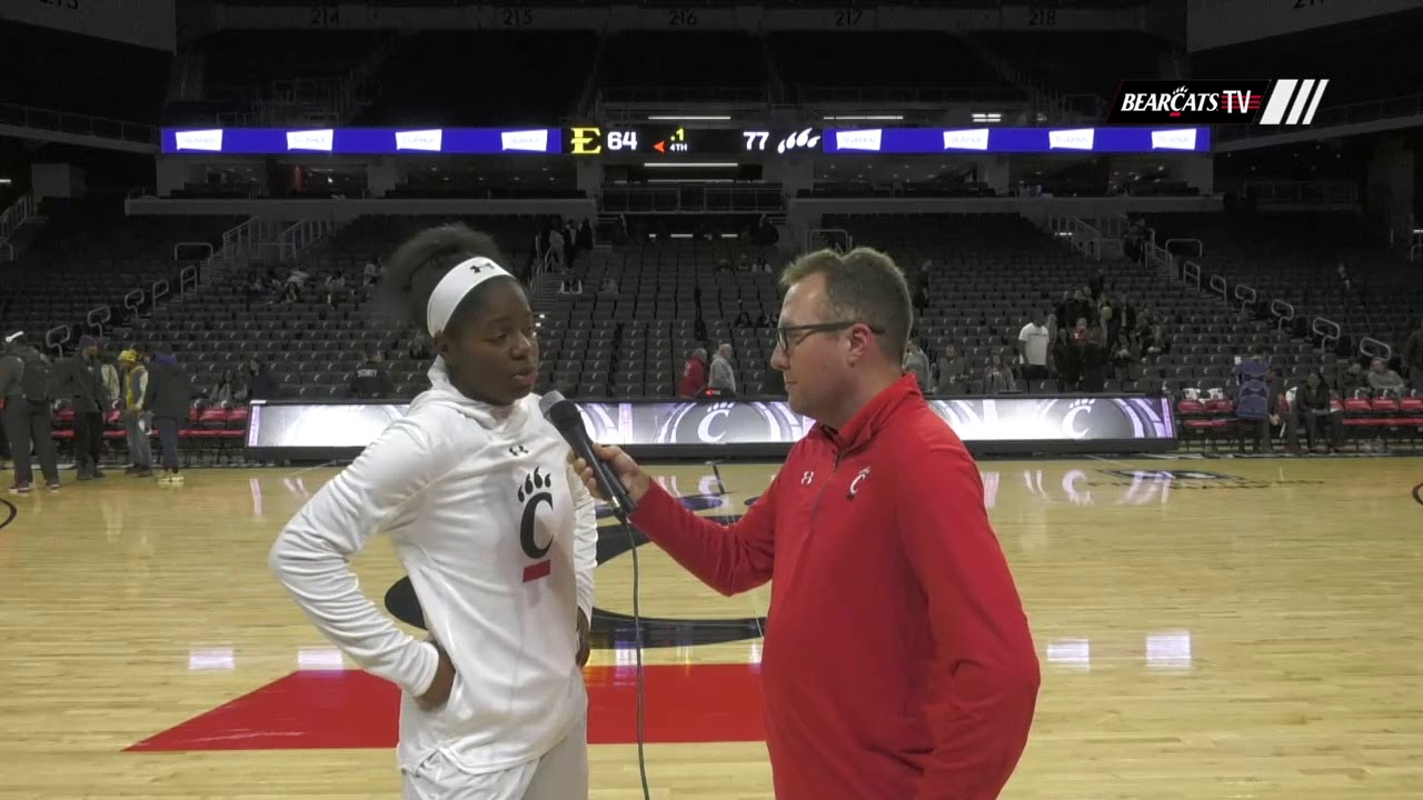 6c6560bee Postgame Interview  Nikira Goings - YouTube
