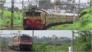 12171/72 LTT - Haridwar AC Express in ICF And LHB Avaatar...!!!
