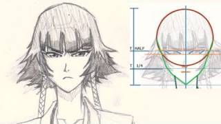 How to draw Anime, Soifon from Bleach