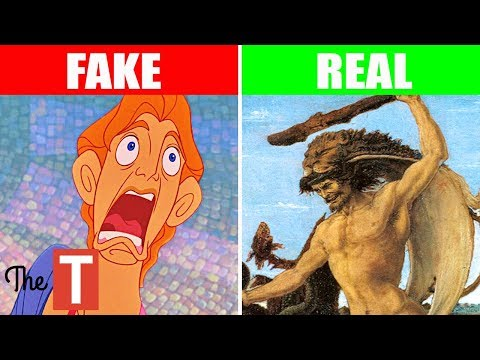The Disturbing REAL STORY Behind Disneys Hercules