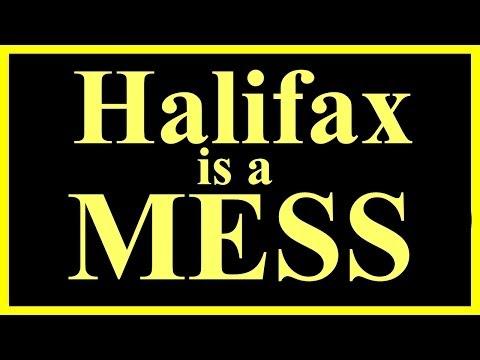 Halifax is a MESS Chebucto sidewalk plow damage
