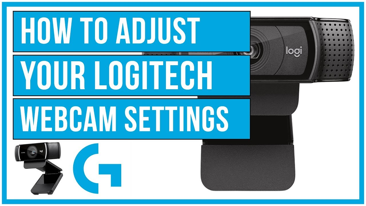 How To Adjust Y our Logitech Webcam Settings - Full Tutorial