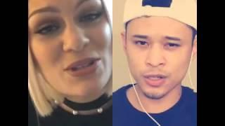Video Flashlight - JessieJ + GLEEK_Andi (Smule SIng ! Malaysia Top) download MP3, 3GP, MP4, WEBM, AVI, FLV Oktober 2018