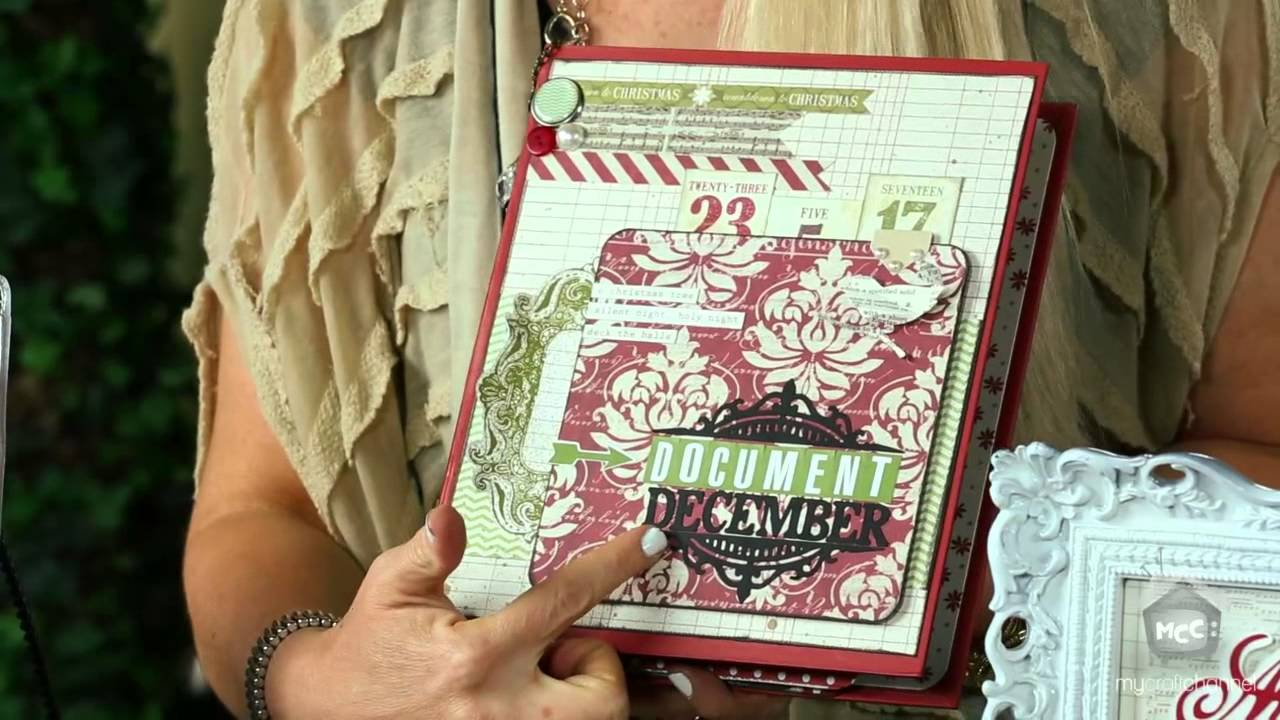 Teresa Collins: December 25th Cricut Cartridge - YouTube