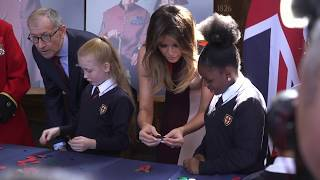 First Lady Melania Trump Visits Belgium, United Kingdom, and Finland