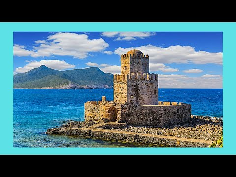 The ancient fortresses of the Peloponnese region, Greece