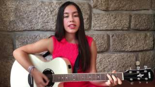 Ellie Goulding- Still Falling For You (acoustic cover by Maria Fernandes)