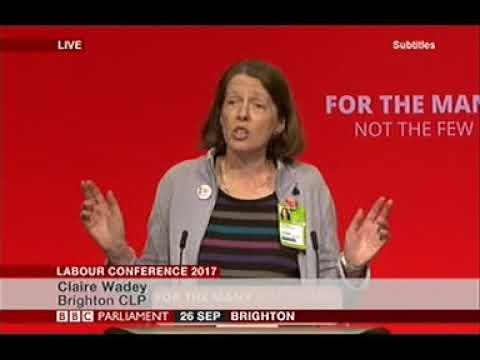 Claire Wadey moves Pavilion Labour