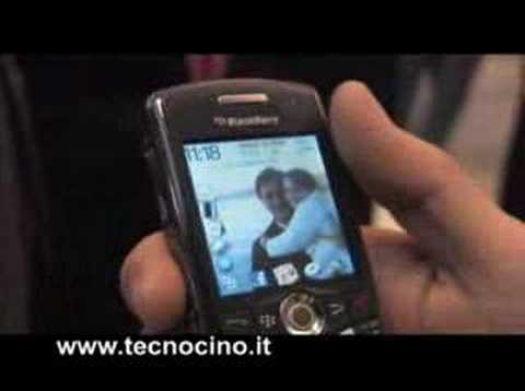Video Blackberry Pearl 8110 - test e prova al WMC 2008