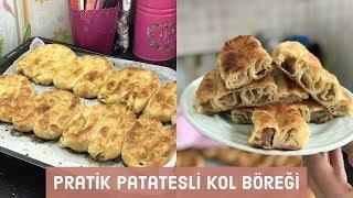 Pratik Patatesli Kol Böreği Tarifi - Naciye Kesici - Yemek Tarifleri