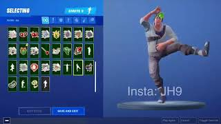 "LEAKED ""Take the elf"" Emote! Fortnite Battle Royal"