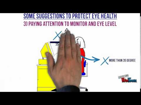 Ph.D. Multimedia Course Assignment---Eye Health for Heavy Computer Users
