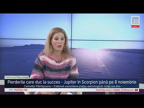 Pierderile care duc la succes - Jupiter în Scorpion până pe 8 noiembrie