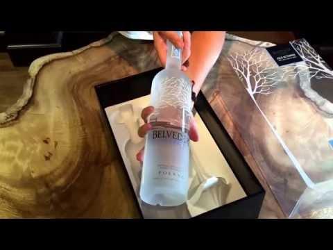 Belvedere Vodka Gift Set with Martini Glass