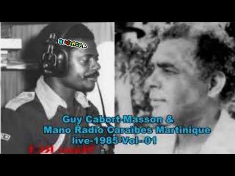 GUY CABORT MASSON-ANNEE 1988-LIVE RCI MARTINIQUE -( Cé Nou Minme )-Vol-01