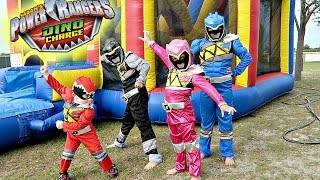 POWER RANGER BIRTHDAY SURPRISE!!!!