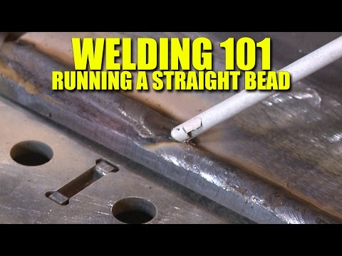 🔥 The First Lesson of Welding - Learn to Run a Straight Bead (Everlast PowerTIG 200DV)