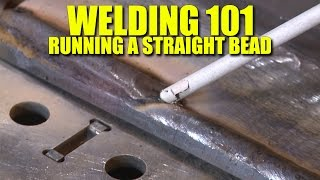 The First Lesson of Welding  Learn to Run a Straight Bead (Everlast PowerTIG 200DV)