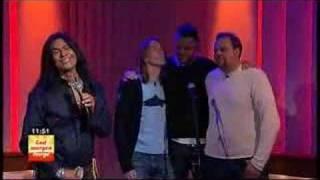 Duane Loken on God Morgen Norge, singing Me and You