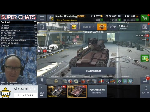 EU STREAM AND TANK GIVEAWAY!!! WORLD OF TANKS BLITZ