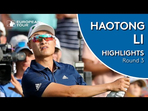 Haotong Li Highlights | Round 3 | 2019 Omega Dubai Desert Classic