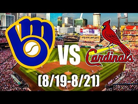 Series Preview 8/19-21: Brewers vs. Cardinals