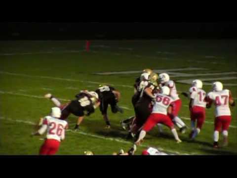 Prep Football: Robbinsdale Armstrong Vs Andover (9/16/ 2010)