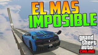 el salto mas imposible del mundo gameplay gta 5 online funny moments carrera gta v ps4