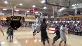 Lester Medford Future Baylor PG | Mixtape with Indian Hills CC